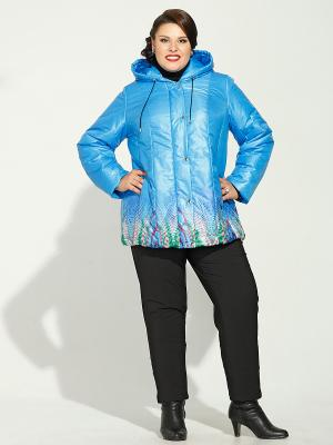 Куртка Silver-String. Цвет: голубой, красный