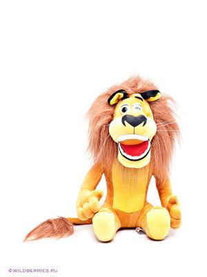 Мягкая игрушка Лев Алекс Мульти-пульти. Цвет: оранжевый, желтый