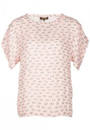 Блуза VIA TORRIANI 88. Цвет: розовый