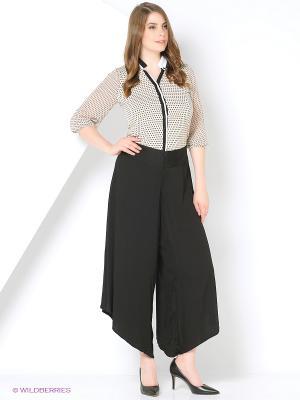 Юбка-брюки Milana Style. Цвет: черный