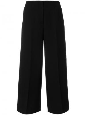 Укороченные широкие брюки Ql2. Цвет: чёрный