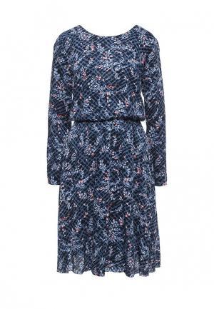 Платье Pepe Jeans. Цвет: синий