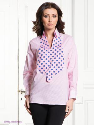 Блузка S&E. Цвет: бледно-розовый