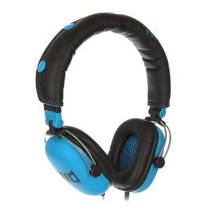 Наушники с микрофоном  Skateboards Black/Blue Nomad. Цвет: голубой,черный