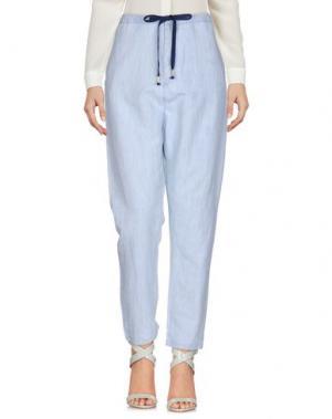 Повседневные брюки MAISON SCOTCH. Цвет: небесно-голубой