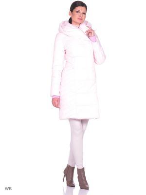 Стеганое пальто Престиж-Р. Цвет: розовый