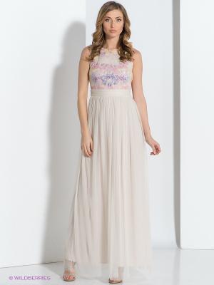 Платье COMPAGNIA ITALIANA. Цвет: молочный