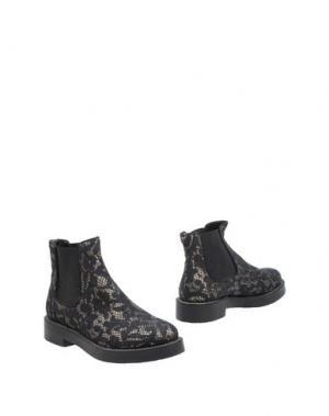 Полусапоги и высокие ботинки TWIN-SET Simona Barbieri. Цвет: черный