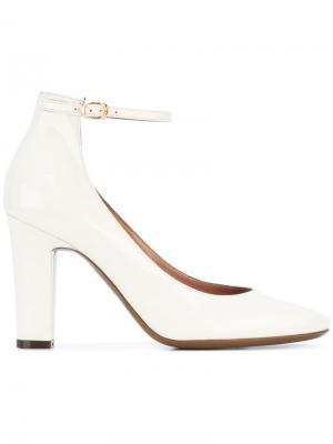 Туфли с ремешком на пряжке  LAutre Chose L'Autre. Цвет: белый