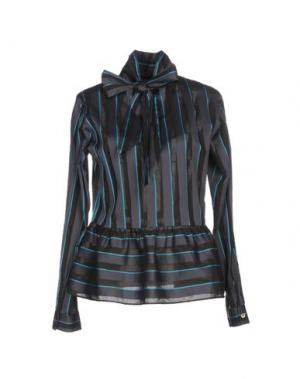 Блузка CALIBAN. Цвет: свинцово-серый