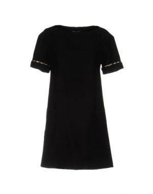 Короткое платье AQUASCUTUM. Цвет: черный