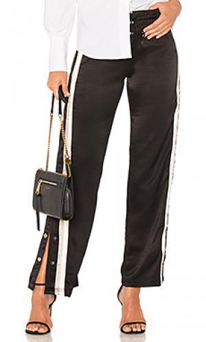 Спортивные брюки tear away MONROW. Цвет: черный
