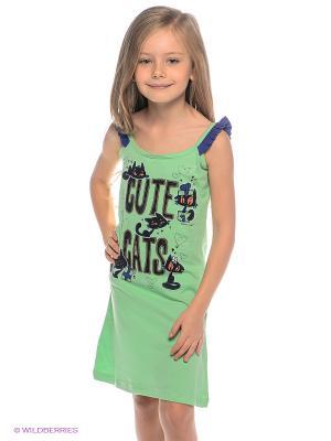 Сорочка Vienetta Secret. Цвет: светло-зеленый, фиолетовый, черный