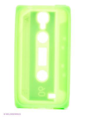 Чехол для Samsung Galaxy S4 Кассета (зеленый) Kawaii Factory. Цвет: салатовый, голубой