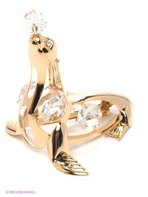 Фигурка Морской котик Юнион. Цвет: золотистый