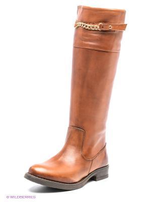 Сапоги SK. Цвет: коричневый