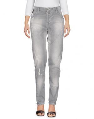 Джинсовые брюки GARCIA JEANS. Цвет: серый