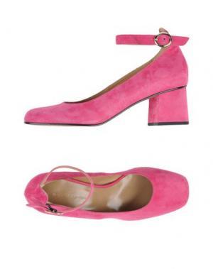 Туфли LUCA VALENTINI. Цвет: фуксия