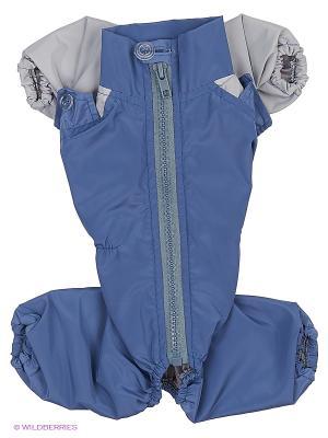 Комбинезон холодный на шелке (Йоркширский терьер №1), мальчик ТУЗИК. Цвет: синий