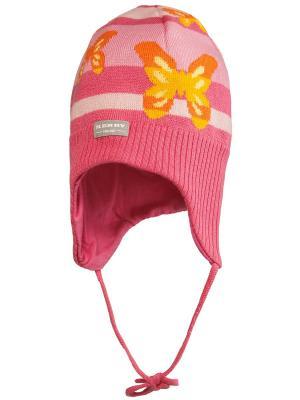 Шапка Kerry. Цвет: коралловый, оранжевый, розовый