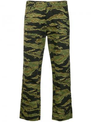 Брюки Phoebe Mih Jeans. Цвет: зелёный