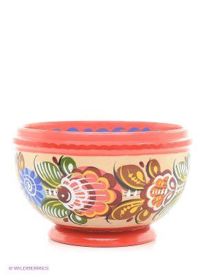 Чашка средняя Сувенир Сувенирыч. Цвет: красный