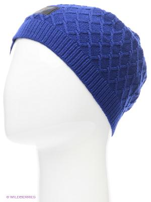 Шапка NSW MS CABLE KNIT BEANIE Nike. Цвет: темно-синий, синий, темно-фиолетовый