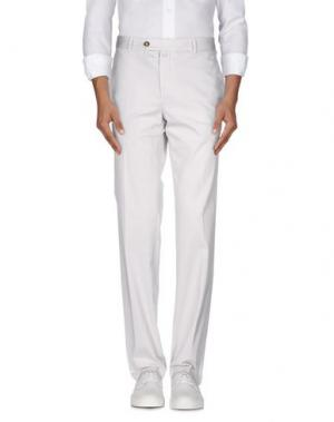 Повседневные брюки EREDI RIDELLI. Цвет: светло-серый