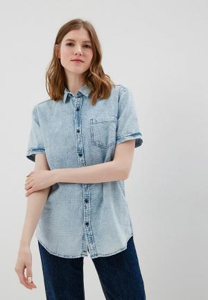 Рубашка джинсовая Colins Colin's. Цвет: голубой