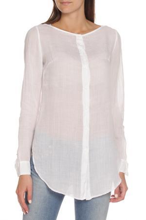 Рубашка с длинными рукавами EUROPEAN CULTURE. Цвет: белый