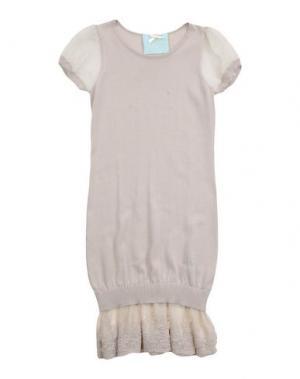Платье MINIFIX. Цвет: бежевый