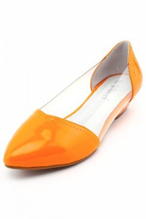Туфли Vitacci. Цвет: оранжевый