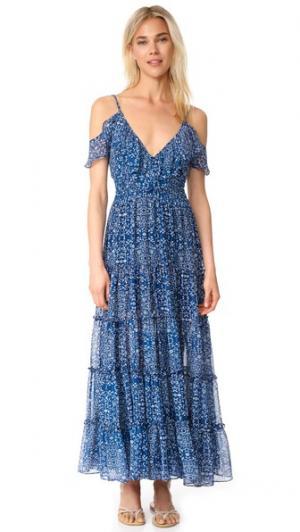 Макси-платье Elodie MISA. Цвет: fl8