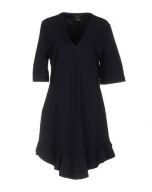 Короткое платье PINKO. Цвет: темно-синий