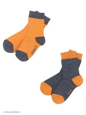 Носки Janus. Цвет: серый