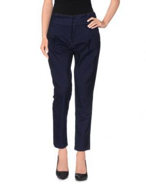 Повседневные брюки AERONAUTICA MILITARE. Цвет: синий