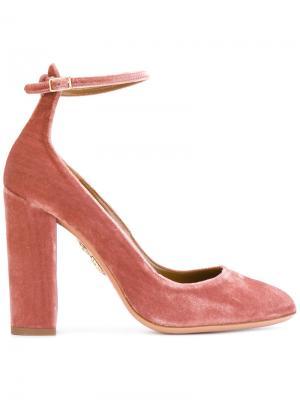 Туфли Alix Aquazzura. Цвет: розовый и фиолетовый