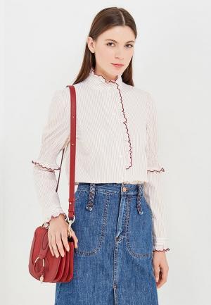 Блуза See by Chloe. Цвет: бежевый