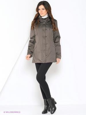 Куртка SUSU Maritta. Цвет: хаки