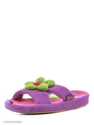 Тапочки детские Dream Feet. Цвет: фиолетовый