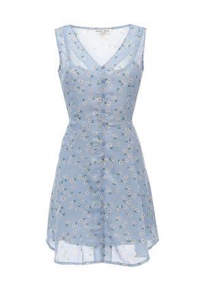Платье Brave Soul. Цвет: голубой