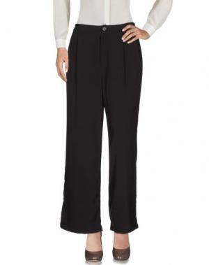 Повседневные брюки JOVONNA. Цвет: темно-коричневый