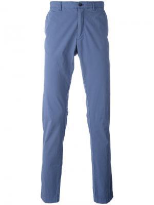 Облегающие джинсы Hackett. Цвет: синий