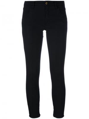 Укороченные брюки скинни Cycle. Цвет: чёрный