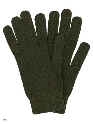 Перчатки Reebok. Цвет: зеленый