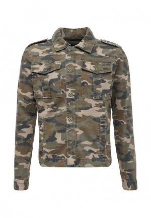 Куртка Top Secret. Цвет: хаки