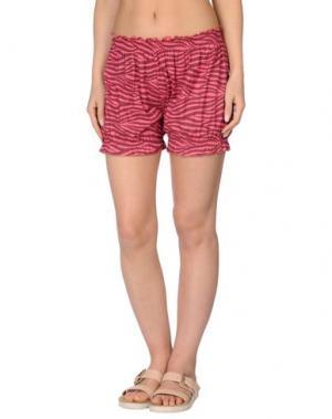 Пляжные брюки и шорты MARZIA GENESI SEA. Цвет: фуксия