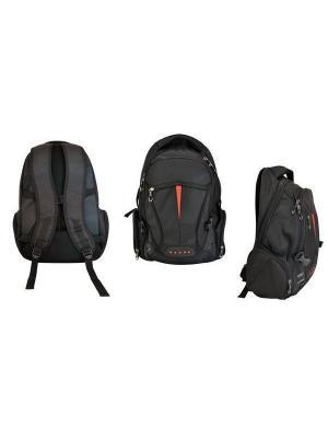Рюкзак с отделением для ноутбука Action!. Цвет: черный