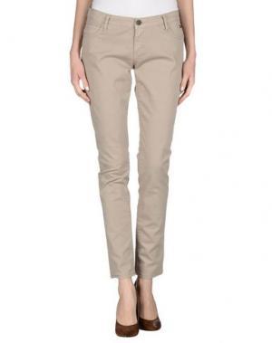 Повседневные брюки ROŸ ROGER'S CHOICE. Цвет: бежевый