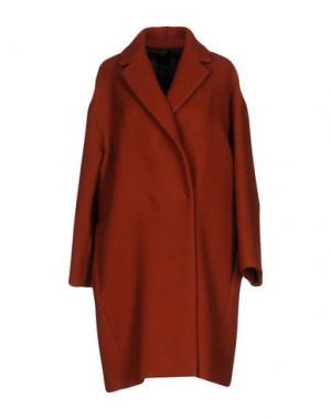 Пальто ANTONELLI. Цвет: ржаво-коричневый